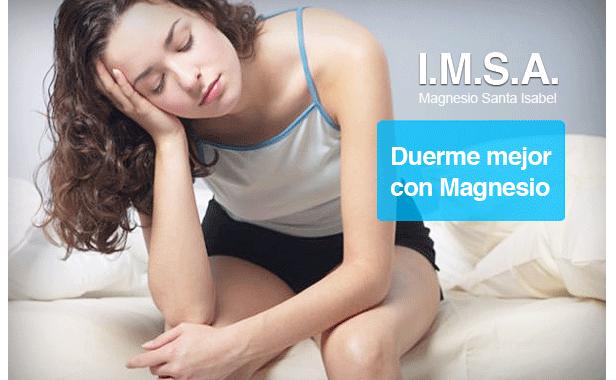 Combatir el insomnio con Magnesio de calidad