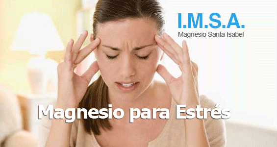 Magnesio para estrés