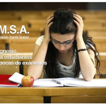 magnesio para estrés escolar y estudiantes