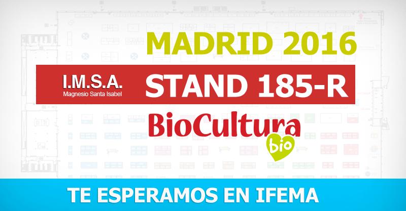 Magnesio Santa Isabel Biocultura Madrid 2016