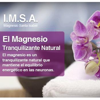 El magnesio como tranquilizante natural